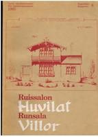 Ruissalon huvilat - Runsala villor