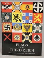 Flags of the the Third  Reich (Wehrmacht,  Waffen-SS,  Party and Police units)