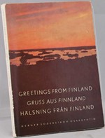 Greetings from Finland. Gruss aus Finnland, H�lsning fr�n Finland