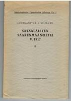 Saksalaisten Saarenmaan-retki v. 1917. Maihinnousuoperaation taktilliset ja teknilliset toimenpiteet armeijan ja laivaston ollessa yhteistoiminnassa