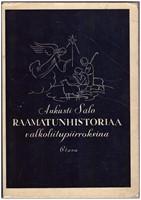 Raamatunhistoriaa valkoliitupiirroksina - 44 kuvataulua