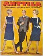 Anttila - Tavaraluettelo No 2 Kev�t - kes� 1966