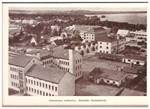 Suomen Kirkon Sisälähetysseuran laitoksia korttikansio (Pieksämäki, Kuopio, Rautalampi)