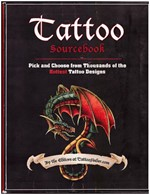 Tattoo Sourcebook - Pick and Choose from Thousands of the Hottest Tattoo Designs (tatuointi)