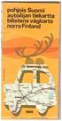 Pohjois-Suomi autoilijan tiekartta 1969