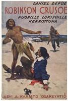 Robinson Crusoe nuorille lukijoille kerrottuna