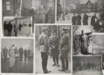 9 kpl Marsalkka Mannerheim -aiheisia valokuvia (yhdess� mukana my�s Adolf Hitler!)