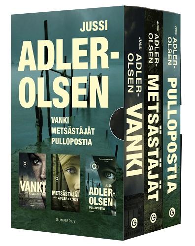 Adler-Olsen Jussi - Osasto Q -sarja
