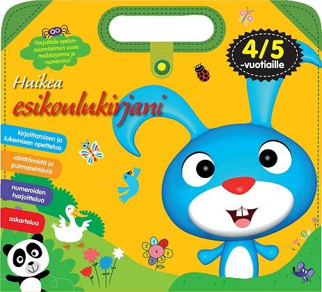 Bonke Sini (suom.) - Huikea esikoulukirjani - 3/4-vuotiaille