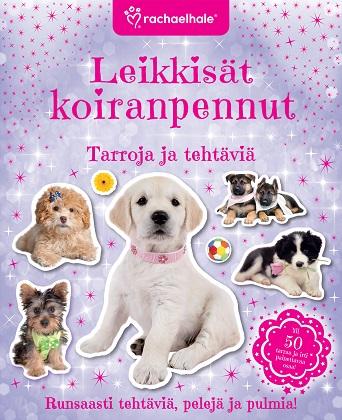 Hale Rachael - Leikkisät koiranpennut - Tarroja ja tehtäviä
