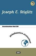 Stiglitz Joseph E. - Globalisaation sivutuotteet