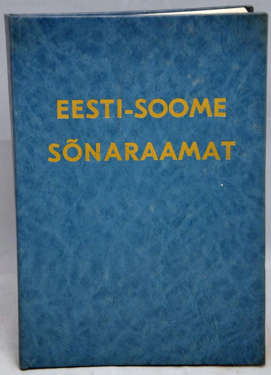 Eesti Soome Sõnaraamat