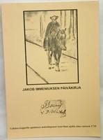 Jakob Immeniuksen päiväkirja - Vahdon kappelin apulaisen muistiinpanot isonvihan ajalta aina vuoteen 1735