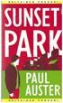 Sunset Park  Keltainen pokkari 61