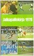 Jalkapallokirja 1978