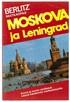 Berlitz matkaopas - Moskova ja Leningrad