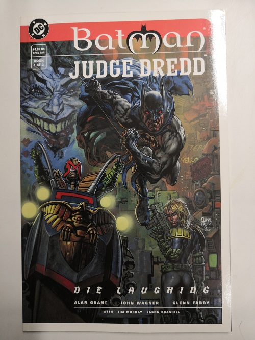 kuva: Batman Judge Dredd: Die Laughing
