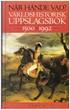 När hände vad? - Världshistorisk uppslagsbok 1500 - 1992