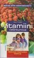 Vitamiinivallankumous - Aktiivisen itsehoidon opas