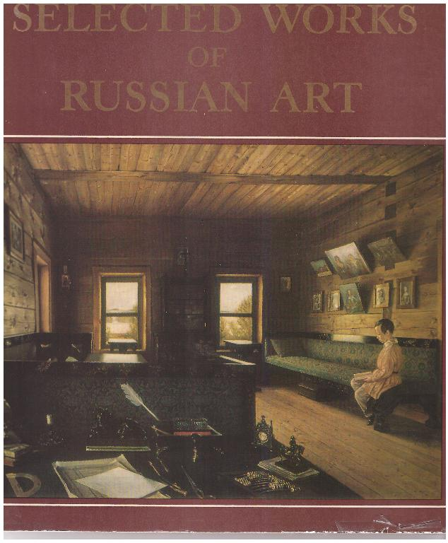kuva: Selected Works of Russian Art - Architecture, Sculpture, Painting, Graphic Art