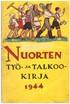 Nuorten työ- ja talkookirja 1944