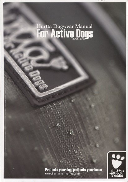 kuva: Hurtta Dogwear Manual For Active Dogs 2008-2010