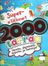 Supereläimet - 2000 tarraa - Upeita, älyttömiä, nopeita ja hassuja