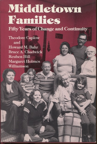 kuva: Middletown Families - Fifty Years of Change and Continuity