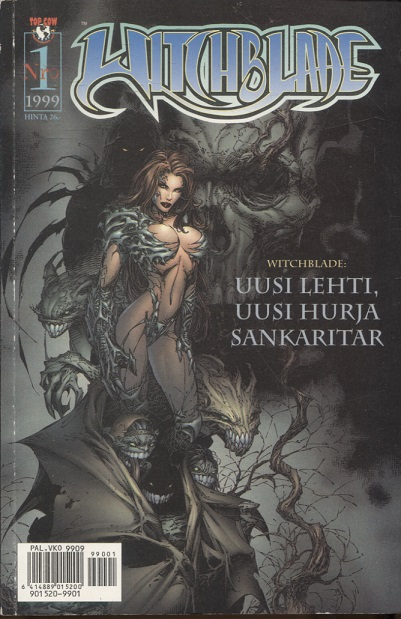 kuva: Witchblade 1/1999
