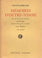 Memoires d'outre-tombe I-VI