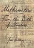 Mathematics From the Birth of Numbers (matematiikka)