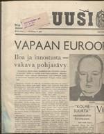 Uusi Suomi 123/1945 keskiviikkona, toukokuun 9. pnä