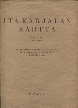 Karjalan Kartta Suomeksi