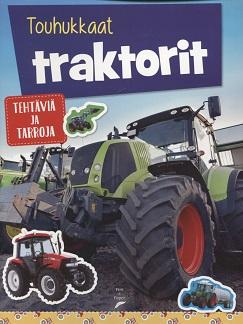 Kollmann Elina (suom.) - Touhukkaat traktorit - Tehtäviä ja tarroja