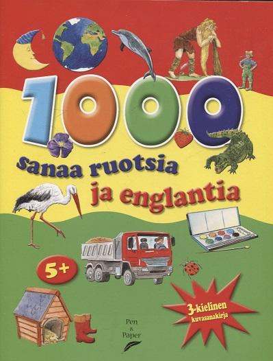 Bampton Bob - 1000 Sanaa ruotsia ja englantia