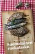 Suomalainen ruokalasku