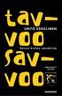 Tavvoo savvoo - Savon kielen sanakirja