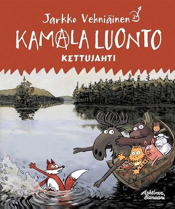 Vehniäinen Jarkko - Kamala luonto - Kettujahti