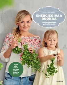 Hälvä Tiina - Trivedi Alexander - Riihelä Laura (kuv.) - Energisoivaa ruokaa - Virkisty ja voi hyvin puhtaalla ruoalla