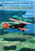 Suomen ilmavoimien historia 22 - Koulukoneet - Koulutus-, harjoitus- ja yhteyskoneet