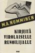 Kirjeitä virolaiselle runoilijalle