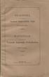 Asiakirjoja, jotka valaisevat Suomen kameralisia oloja 1500-luvulla - Handlingar till belysande af Finlands kamerala förhållanden på 1500-talet