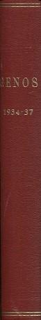 Genos - Sukutieteellinen aikakauskirja 1934-37 (vuosikerrat)