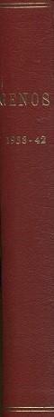 Genos - Sukutieteellinen aikakauskirja 1938-42 (vuosikerrat)