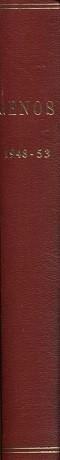 Genos - Sukutieteellinen aikakauskirja 1948-53 (vuosikerrat)